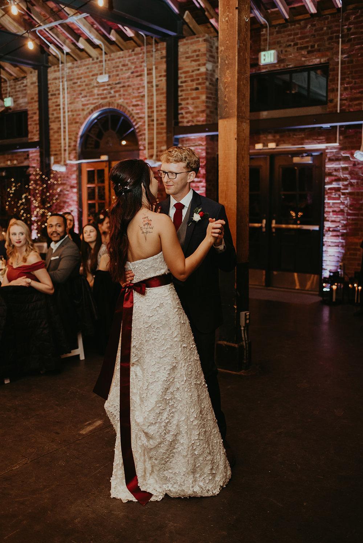 bridal gown burgundy sash.jpg