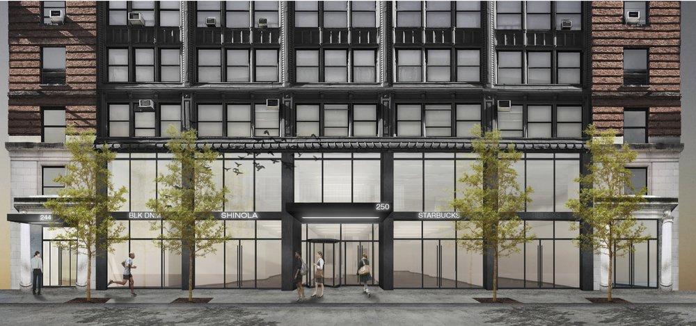 250 W 54th Street - Retail - 2,700 sf Ground550 Sf mezzanine500 sf storage