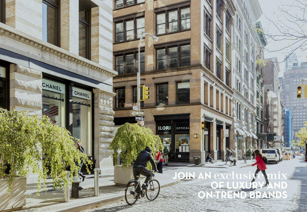 109 Wooster - Office - ($98/ft blended)12,600 SF 2ND Floor ($120-$130/ft)12,600 SF 3rd floor ($98/ft)