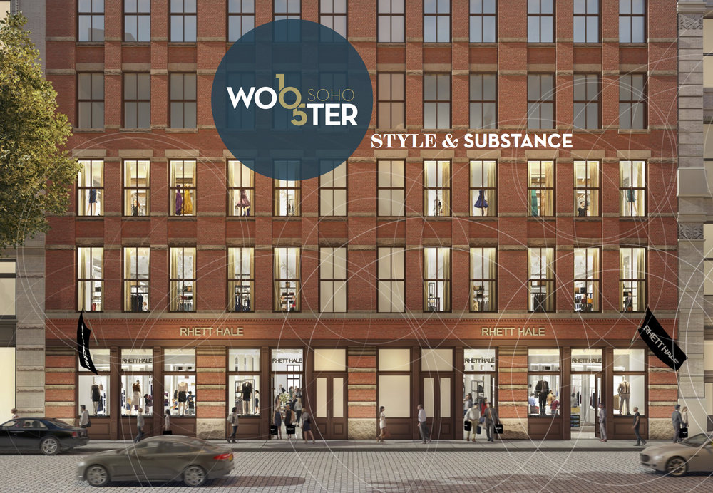 105 Wooster - Retail - 9,400 sf ground7,500 sf lower level