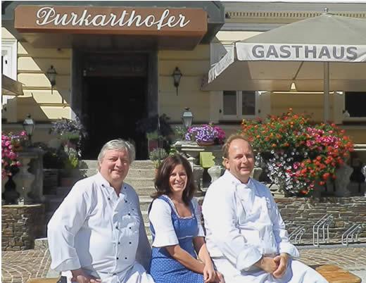 Willi Haider mit Martina und Sigi Pilich