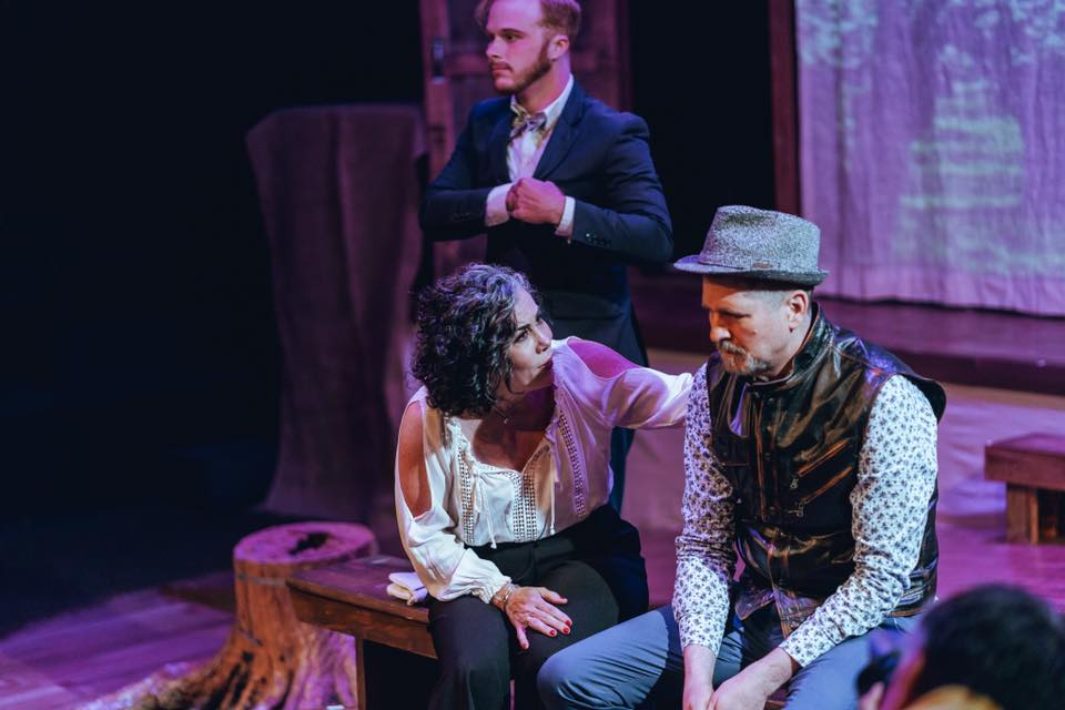 Dean Wray, Emily Scott Banks, Stan Graner in  The Cherry Orchard