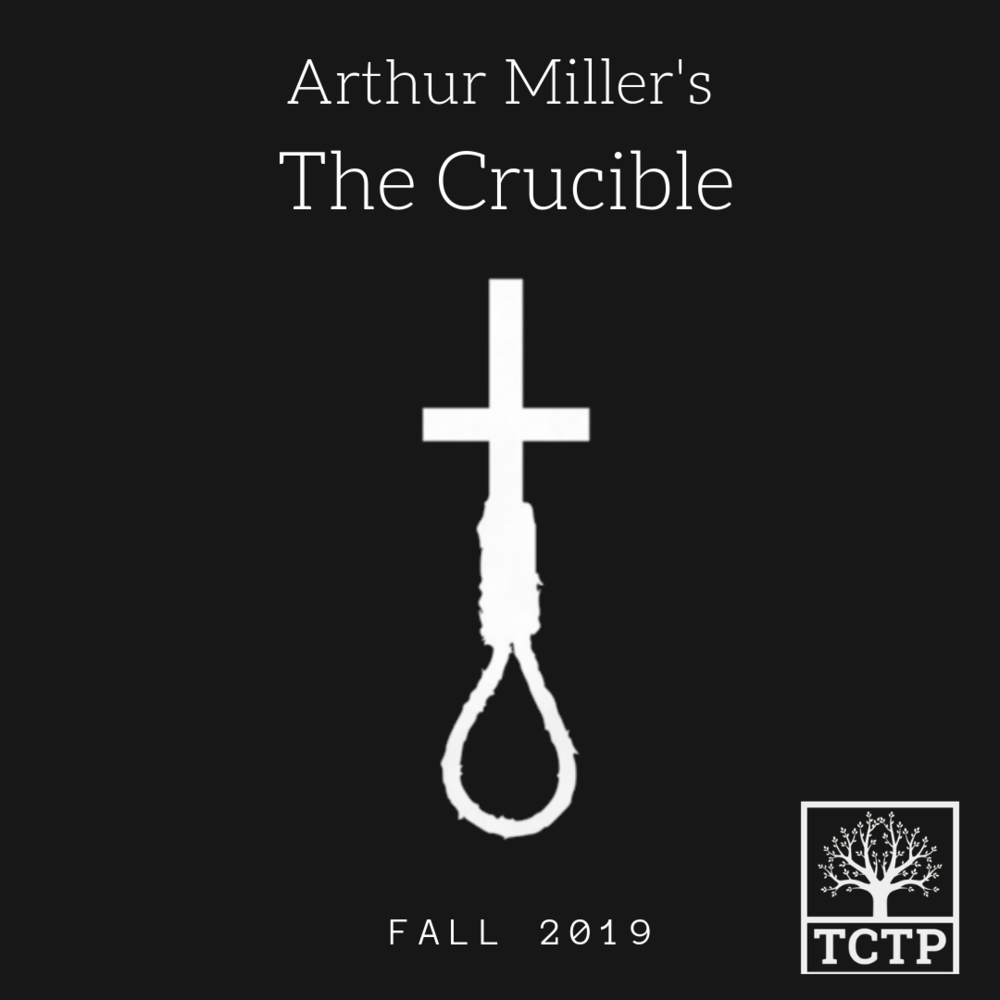 Fall 2019 - The Crucible tells the story of the Salem Witch Trials as a metaphor for the anti-American witch hunts of the 1950s. Miller wrote the play as an allegory for McCarthyism.