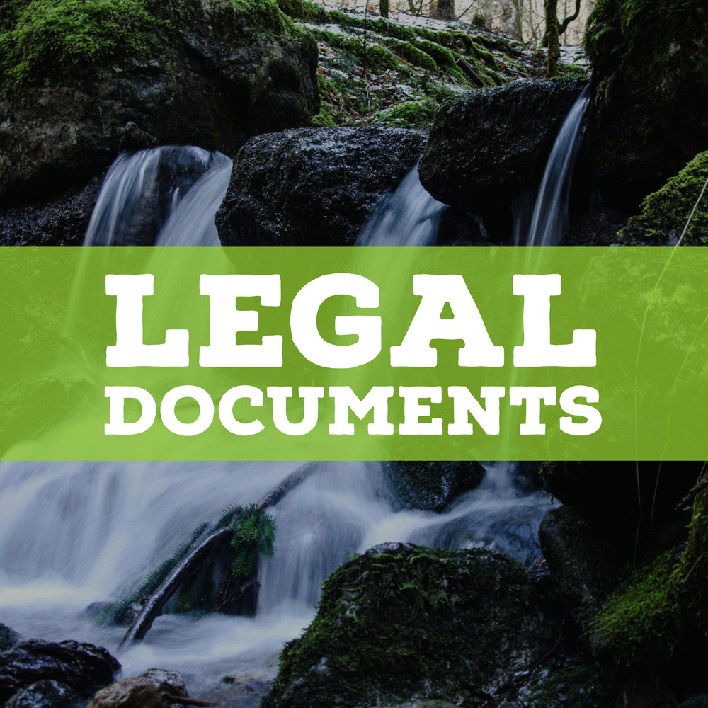 kidz outdoors legal documents