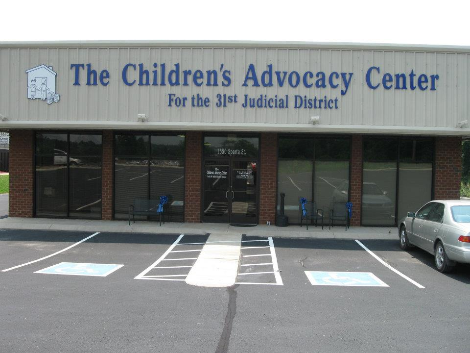 Children's Advocacy Center for 31st Judicial District   Child Care Agency  Address: 1350 Sparta Street McMinnville, TN 37110