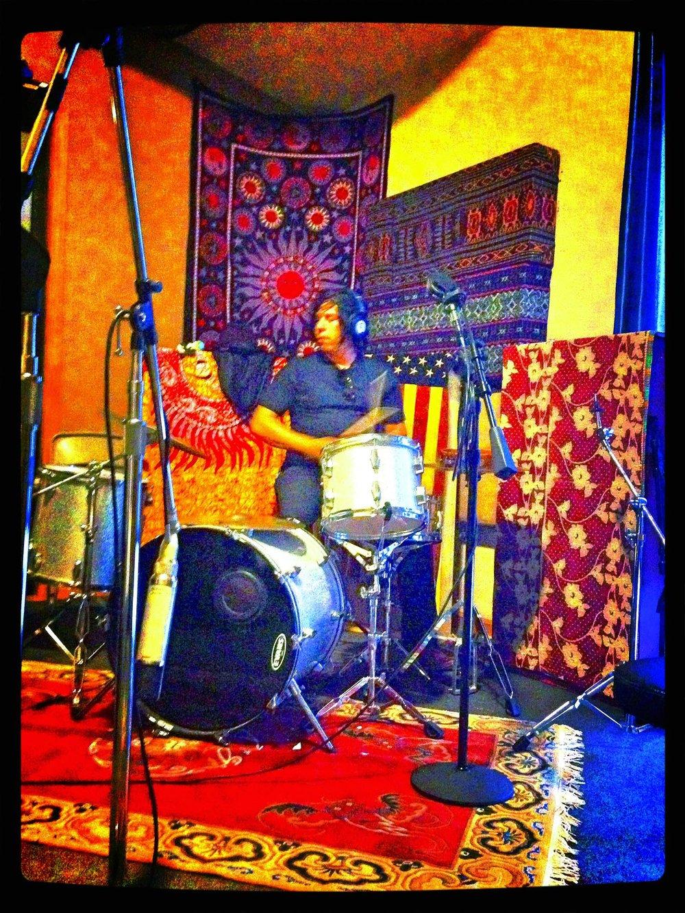 Jackie studio drums.jpg