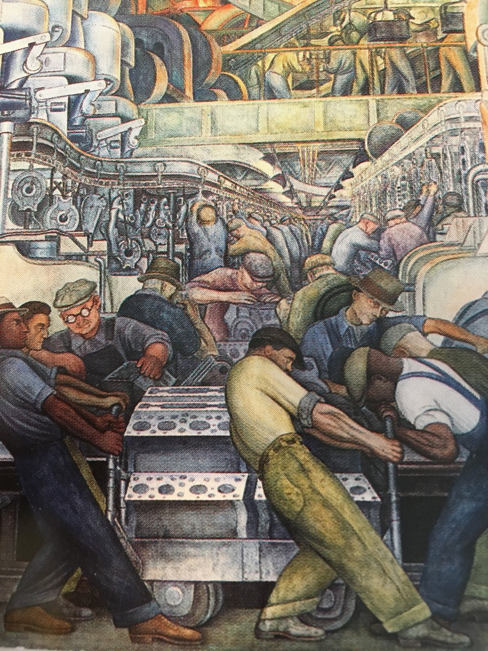 Diego Rivera - Detroit Institute of Arts