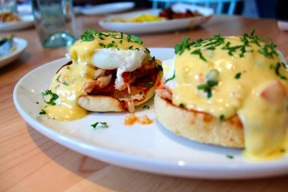 Maine Lobster Benedict  - Photo: Shelby Forsyth