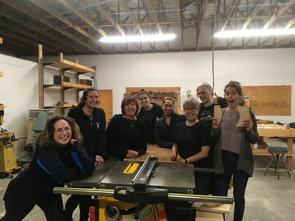 Happy students after Tools & Techniques class!