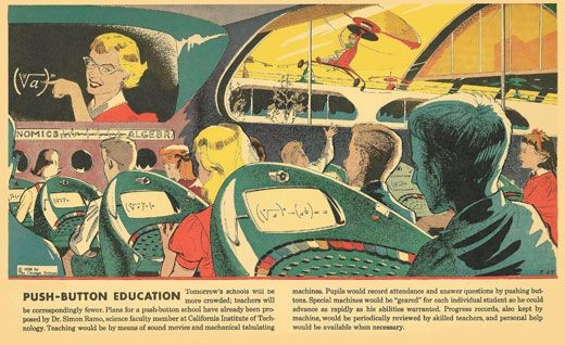 Author Radebaugh, A Push Button Education