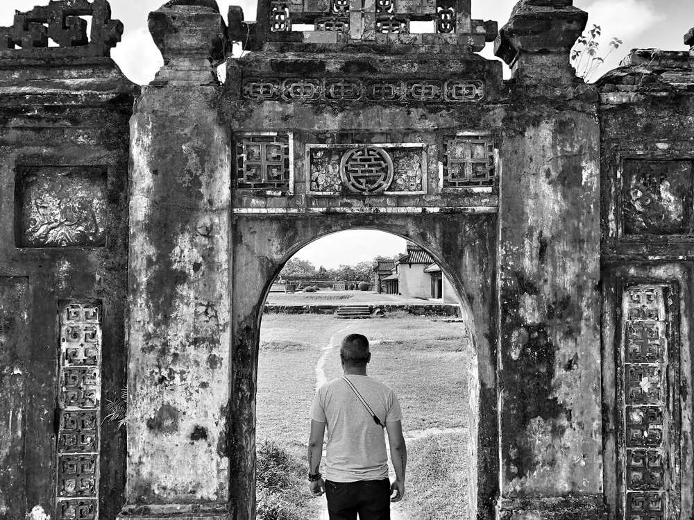 imperial city, hue, vietnam 2018