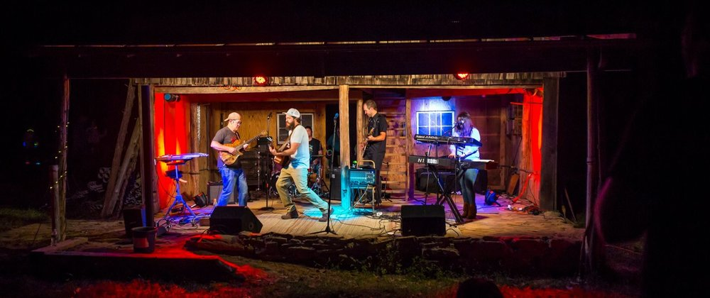 T.A. Clayton and the Soul Miners played a rousing set of outlaw country, soul and funk originals.