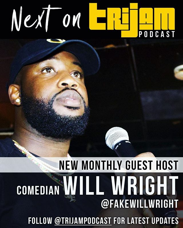‼️ TOMORROW NIGHT, we welcome back our friend and new monthly guest host @fakewillwright to Studio C!! 🔥🔥🔥🔥 . . @thekylemaack @shaedavis_music @joriversmusic @_shaunlowe_ #TriJam #podcast #localartists #forartistsbyartists #tristate #tristatearea #rnb #hiphop #artistshowcase #philly #nj #wilmingtonde #de #pennsylvania #followus #realmusic #trijampodcast #phillymusic #njmusic #delawaremusic #hiphop #rap #rnb #comedy