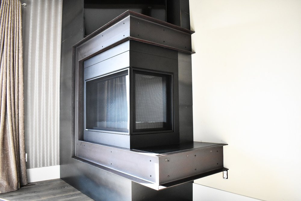 HANDMADE FIREPLACES - MADE TO ORDER
