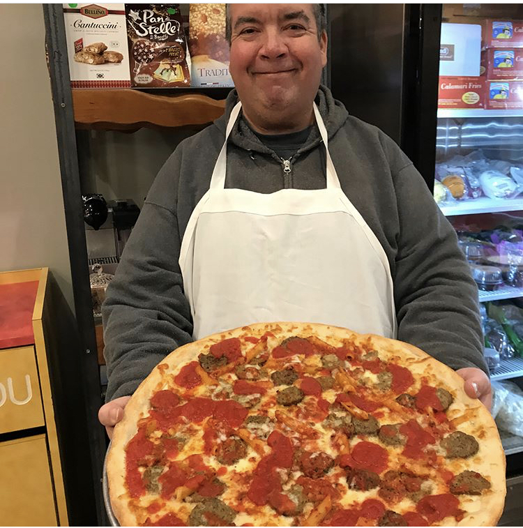 Kevin Made his Favorite Pizza - Pasta & Meatball!!!