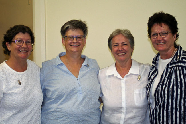 Some of the Sisters who attended the Younger Religious gathering