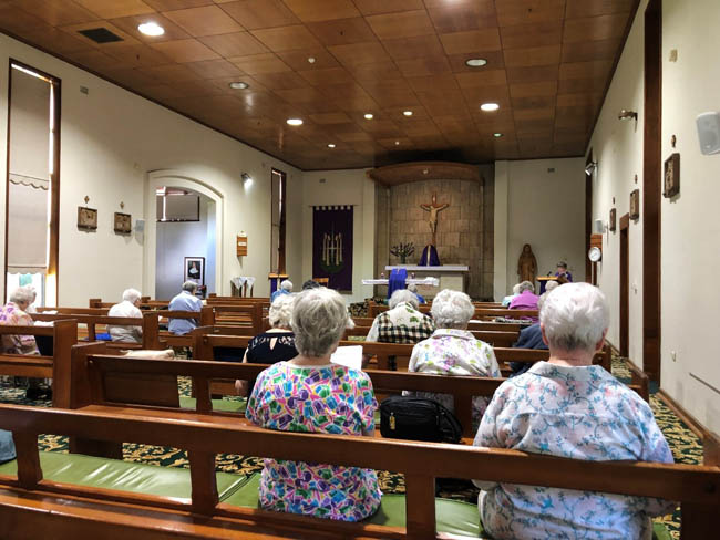 The NSW Sisters of St Joseph held liturgies in four centres across the State.