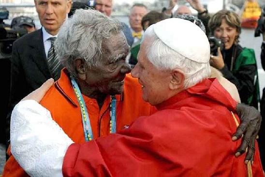 Deacon Boniface and Pope Benedict XVI