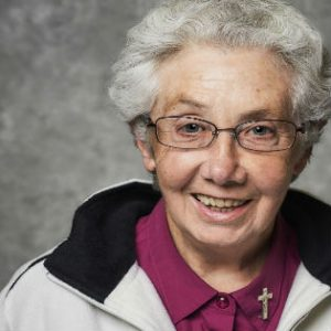Sr Annette Cunliffe RSC. Photo: Sisters of Charity website/portrait by Tim Bauer (timbauerphoto@mac.com)