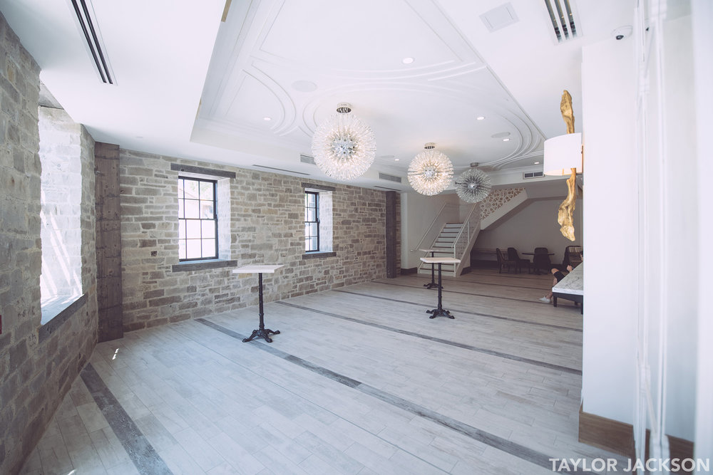 Elora Mill Wedding Lobby