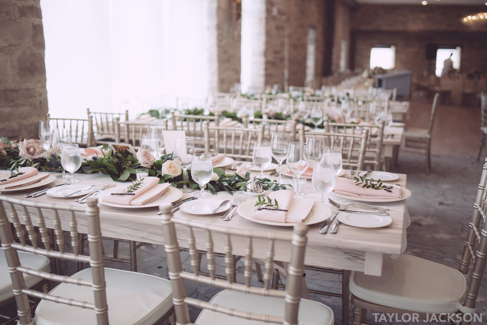 Elora Mill Grand Room  Wedding