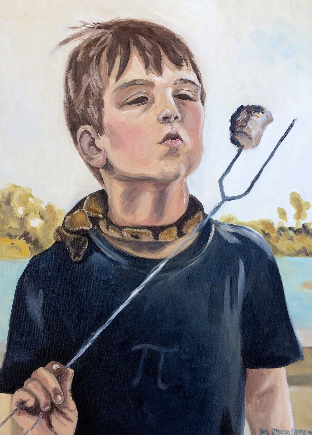 Boy with Snake