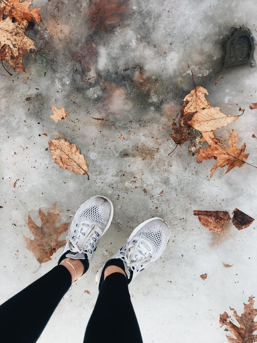 winterhikessneakersnikeleaves