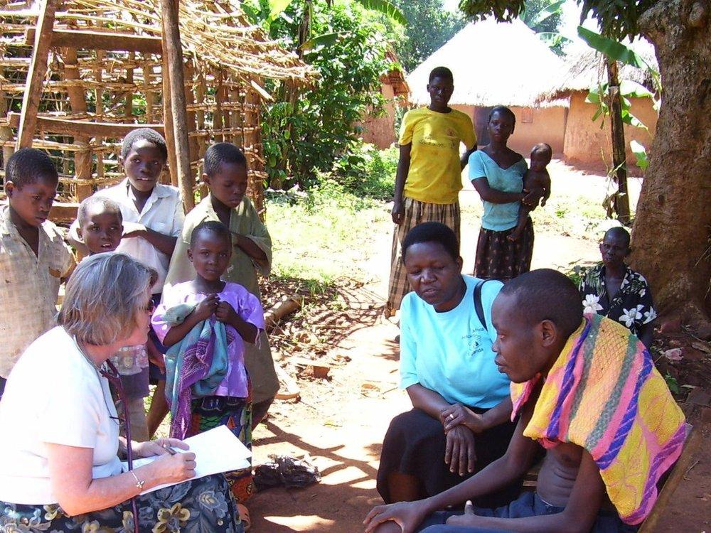 Hospice Jinja  - Reaching those in the community of  Jinja