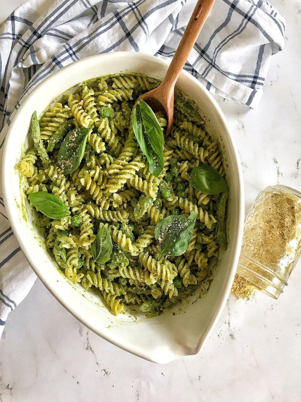 Spring Veggie Pesto Pasta.JPG
