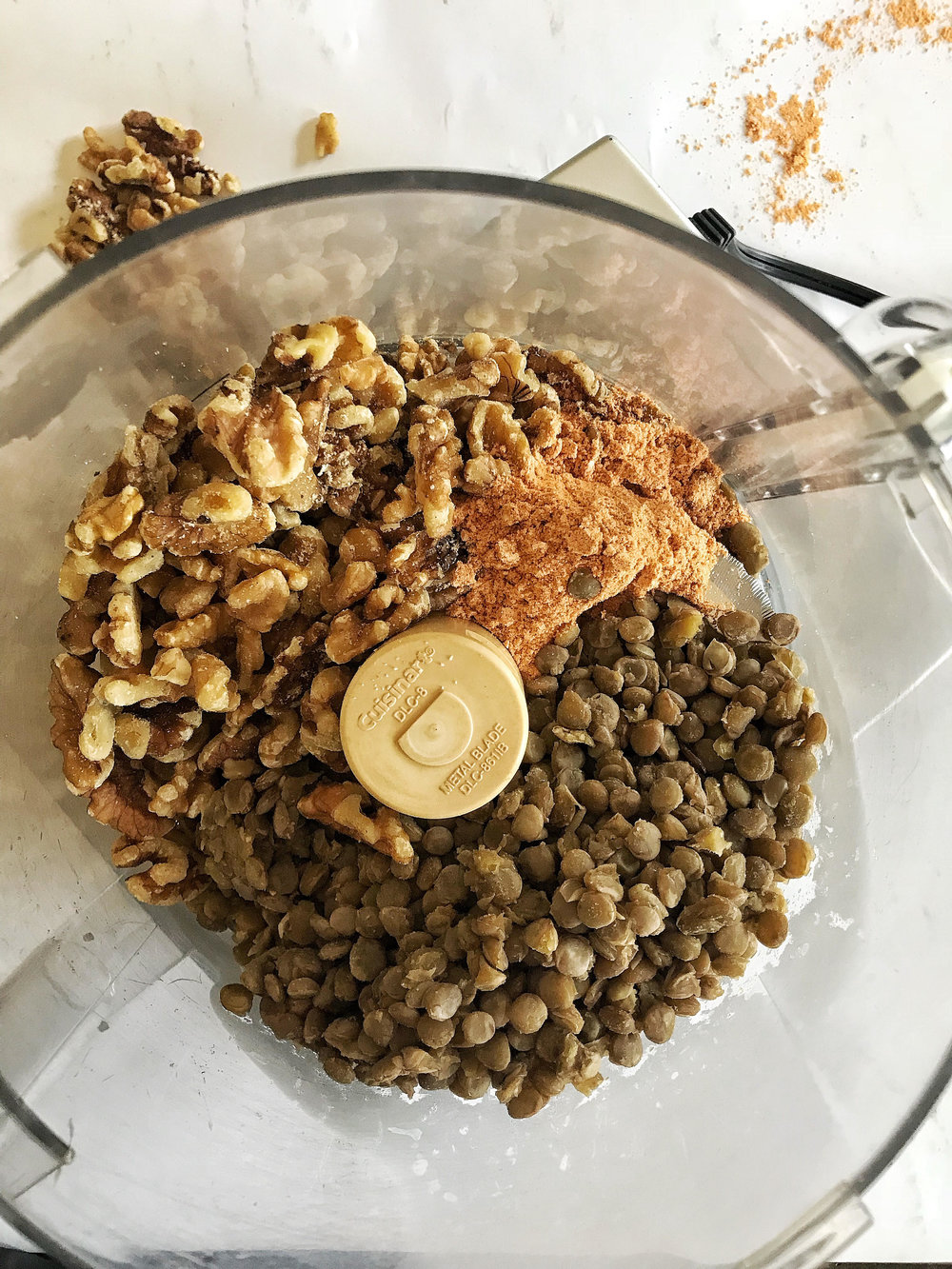 My Lentil Walnut Ground Beef is the perfect alternative to the fat-laden original. It is extremely versatile (Mexican and Italian are my favorite cuisines to add this too!) This batch lasted us about 3 days with leftovers.
