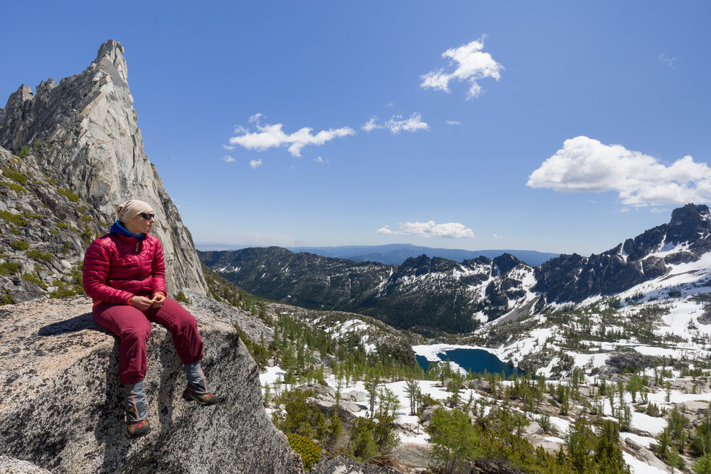 Lunch at Prusik Pass in the Enchantments