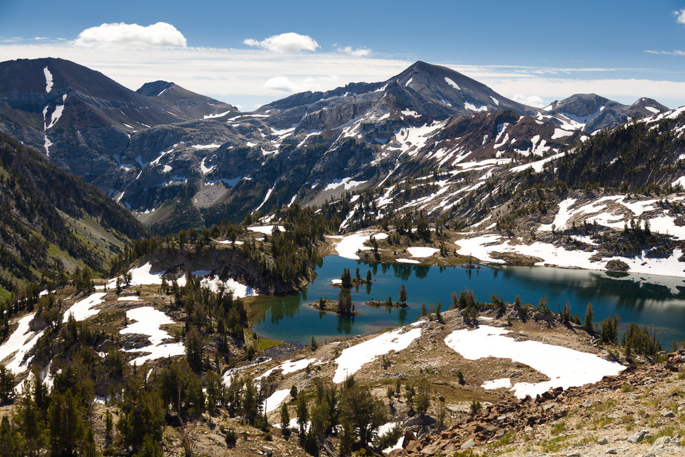 Glacier Lake in the Eagle Cap Wilderness
