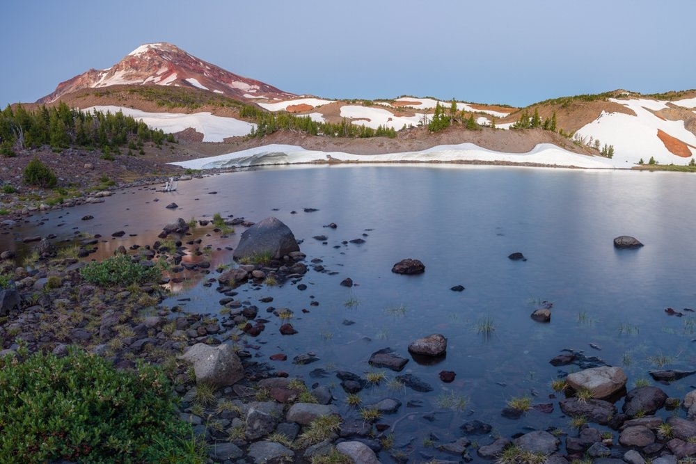 Chamber Lakes in the Sisters Wilderness