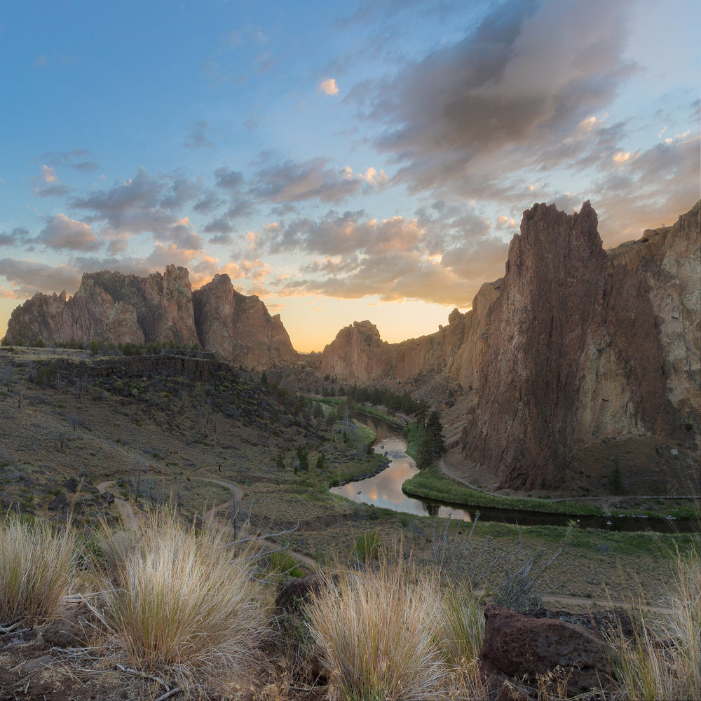 Sunset at Smith Rock