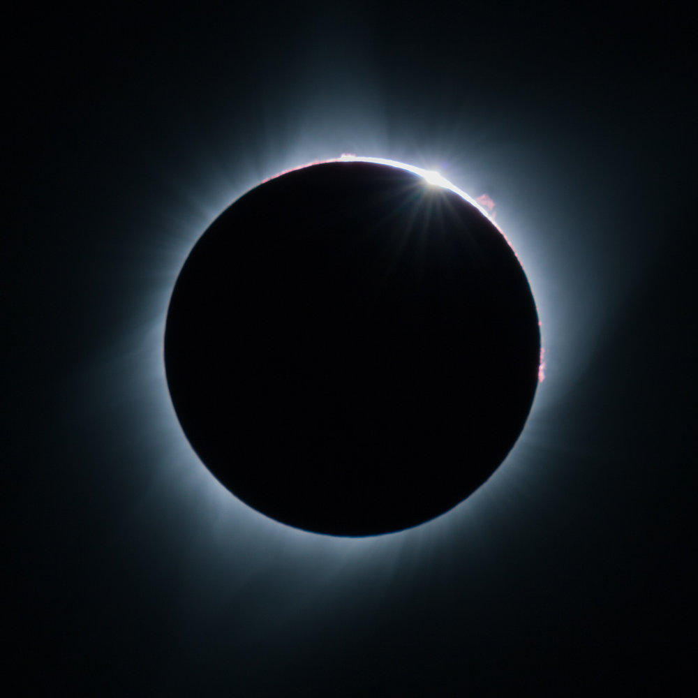 Totality of the Great Solar Eclipse of 2017