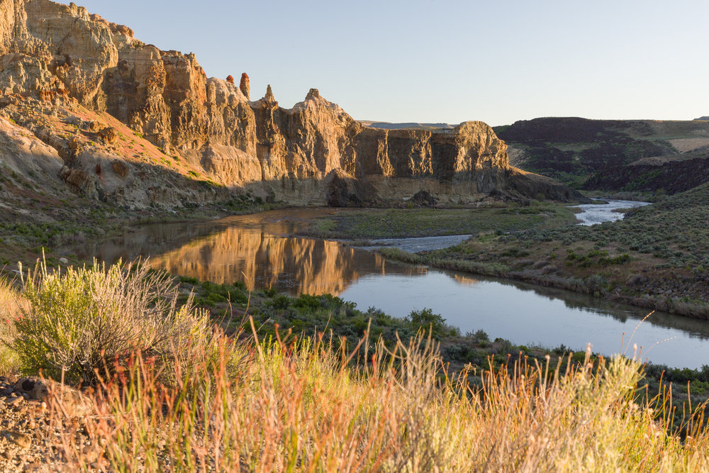 Morning light on the Owyhee