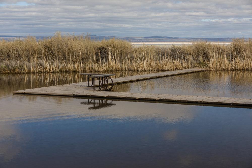 Reflecting pond at Summer Lake