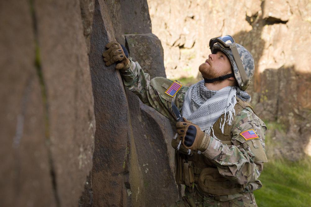 Tactical brand shoot for CRKT