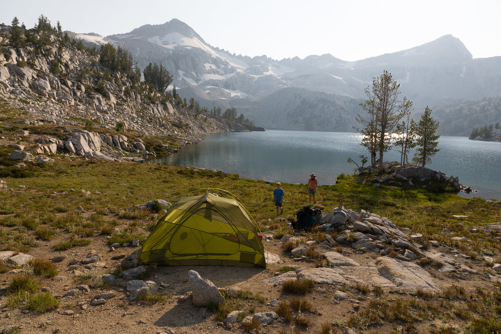 This was our camp on the NE shore of Glacier Lake. We stayed here two nights.