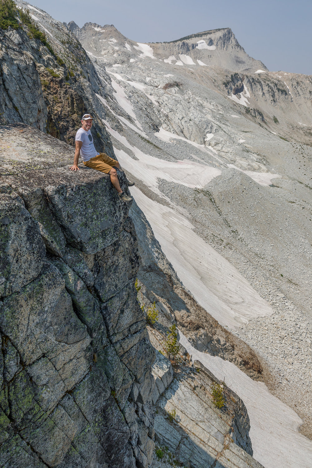 This was a shot from our scramble up to the top of Eagle Cap from Glacier Lake