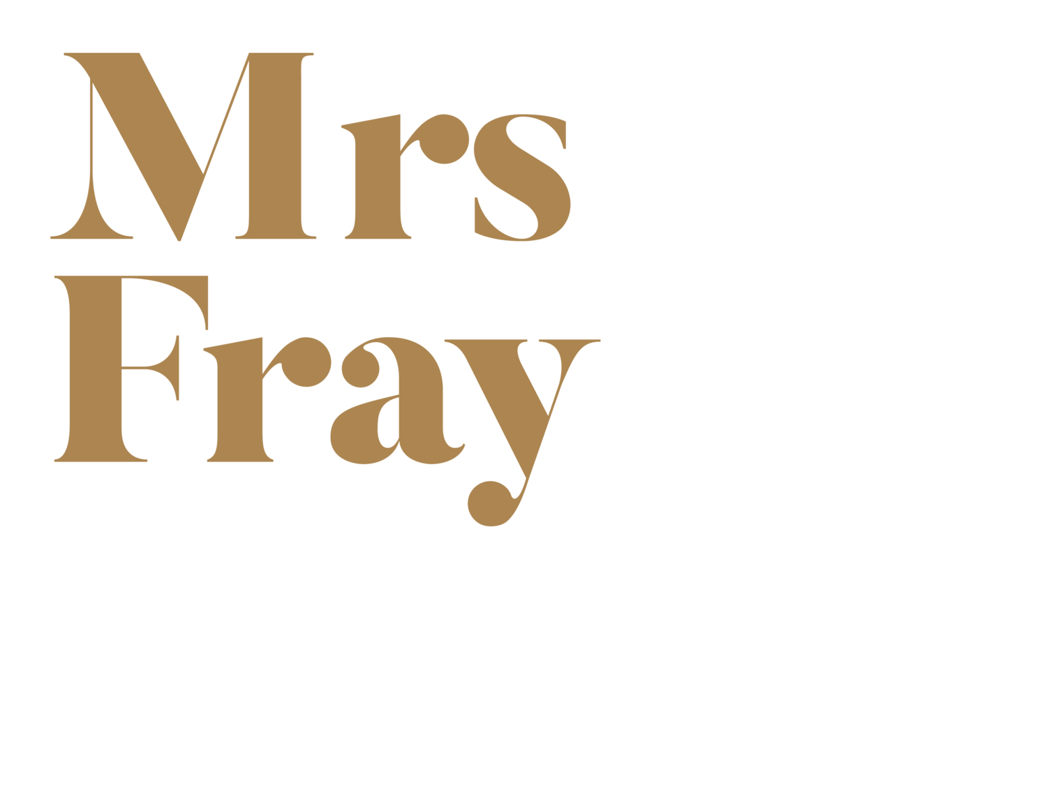 Mrs Fray - Your New Destination For Wedding Dresses in Canberra