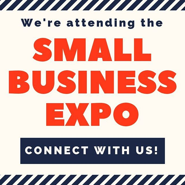 We'll be at the Small Business Expo in DTLA tomorrow! Excited to meet all of the amazing small businesses all over LA and beyond ✨ We're also looking forward to all of the amazing panels they've got scheduled!  Who else will be attending the Expo too? We'd love to connect with you there!