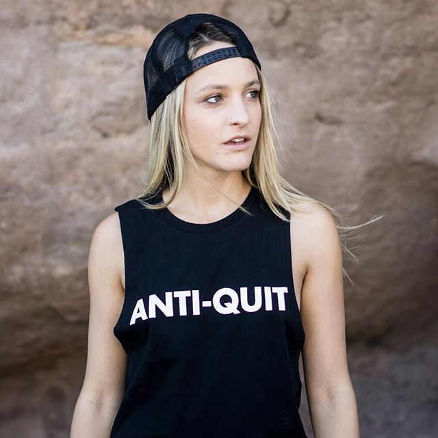 Adopt a daily ANTI-QUIT mentality 🙌🏻 Our client @lovethepain makes the best workout and athleisure gear. Check them out at www.lovethepain.com