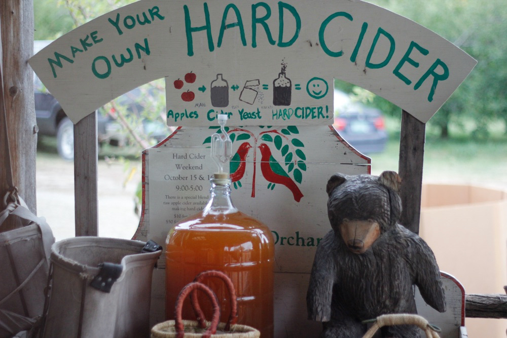 Make your own hard cider on Truckload and Hard Cider weekend Oct 20th & 21st!