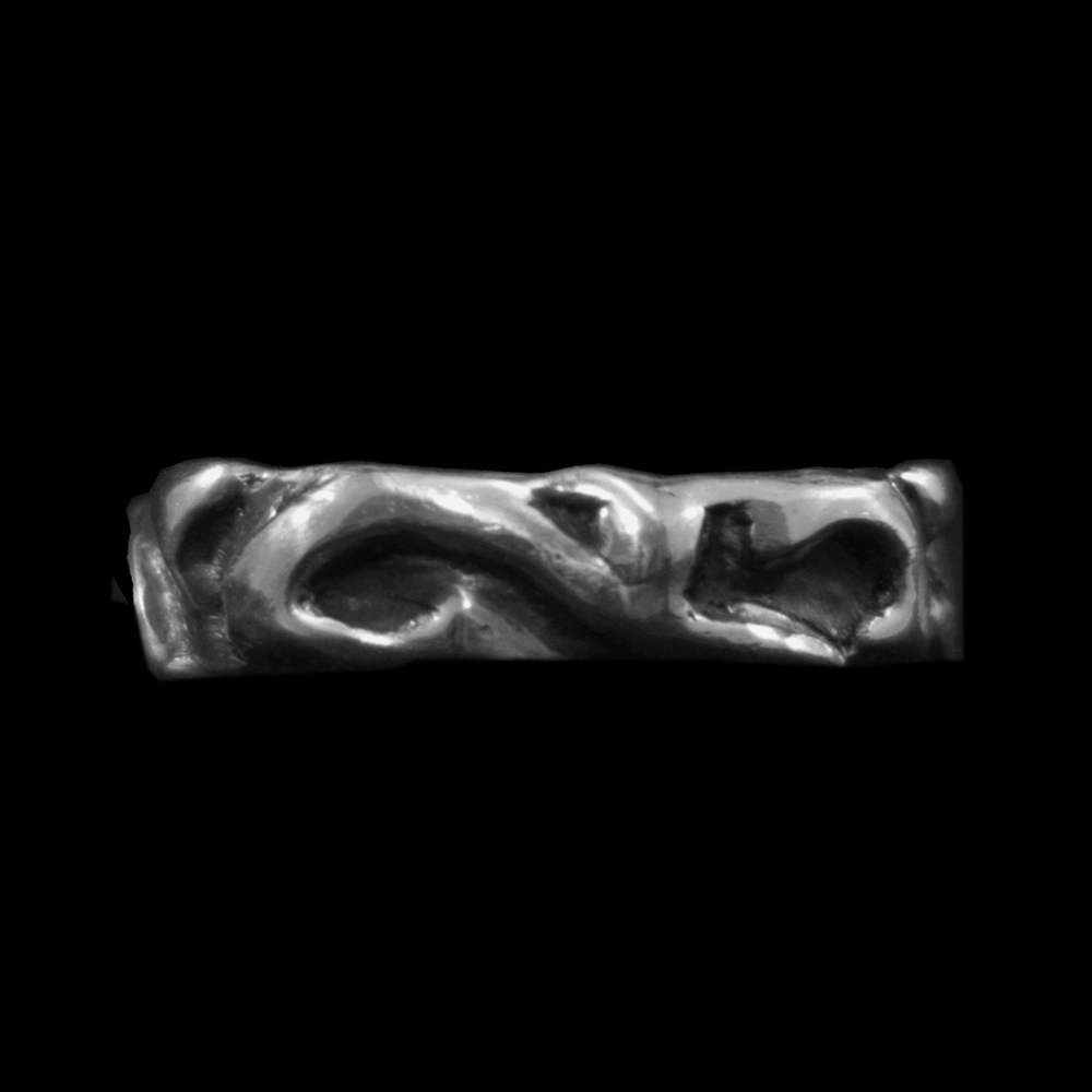 Sterling Silver Yoga Ring - View 1