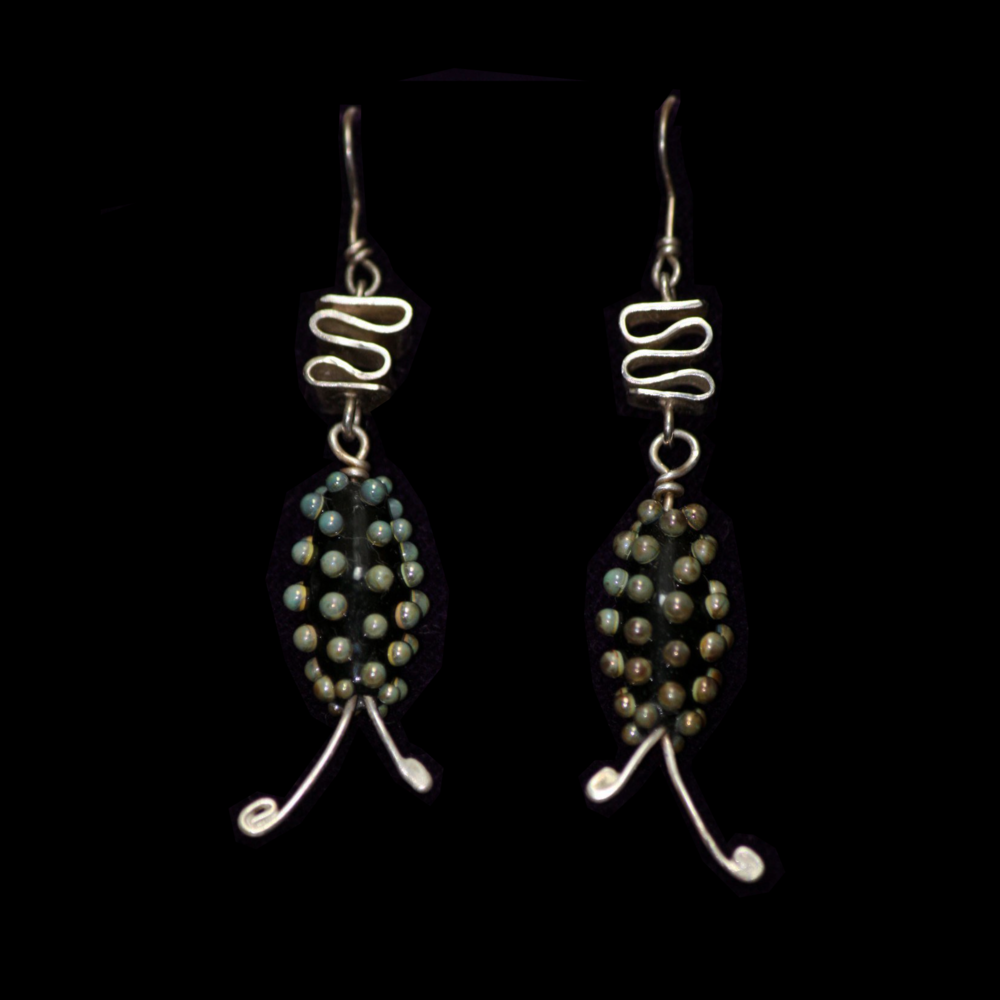 Whimsical Bead Earrings