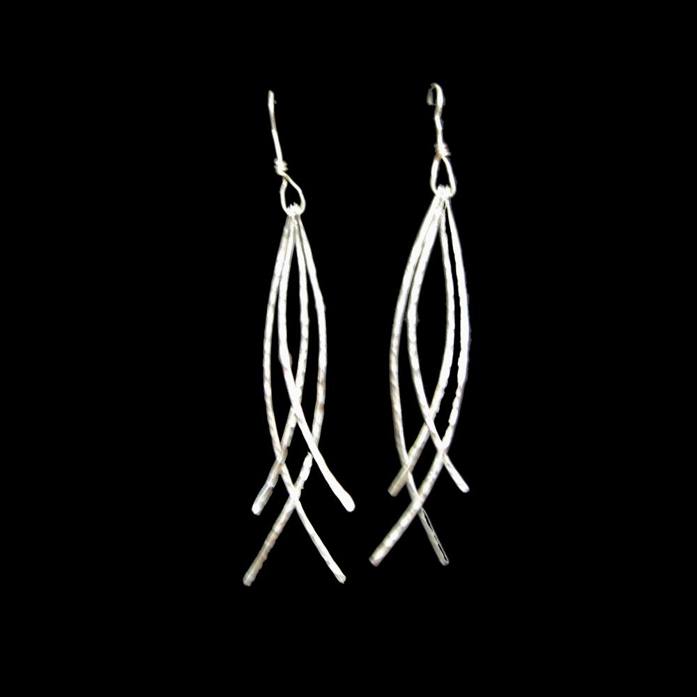 Swinging Wire Earrings