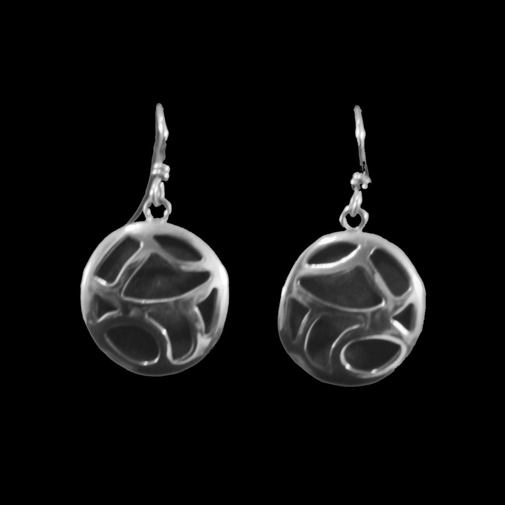 Abstract Cutout Earrings