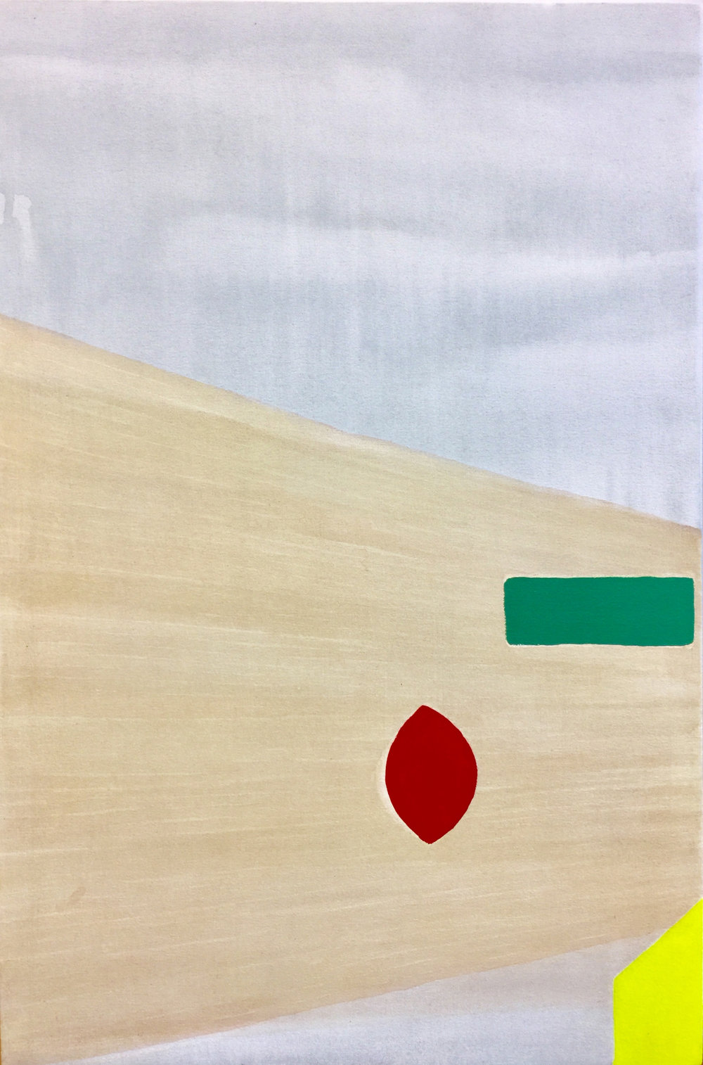 "untitled (SoR), 2018, acrylic on canvas, 36"" x 24"""