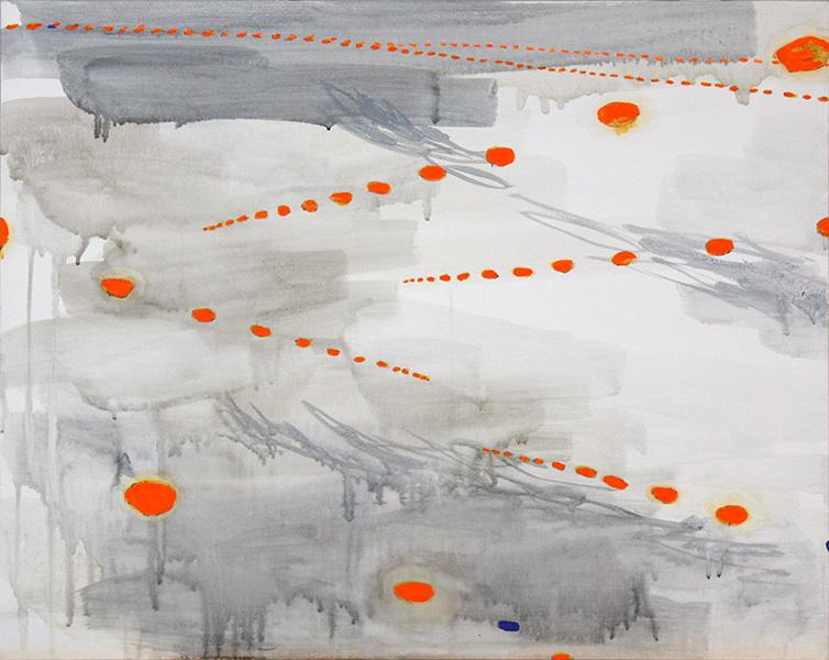 """Kennedy Overcast, 2013, acrylic on canvas, 24"""" x 30"""""""